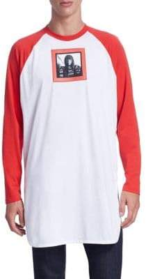 Givenchy Raglan Cotton Baseball Tee