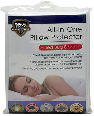 LEVINSOHN Levinsohn All In One Bed Block Zippered Pillow Protectors