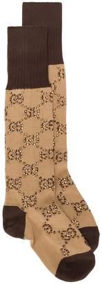 Gucci GG pattern socks