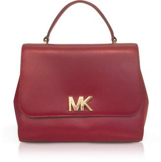 At Forzieri Michael Kors Mott Medium Leather Satchel Bag