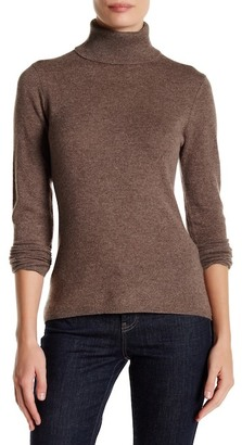In Cashmere Cashmere Turtleneck Sweater $210 thestylecure.com