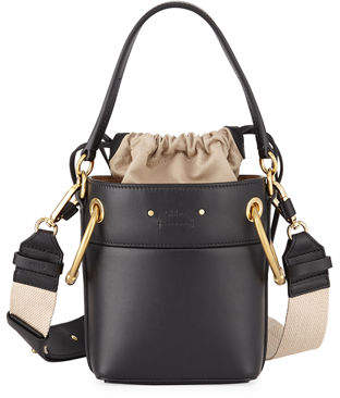 Chloé Roy Mini Smooth Leather Bucket Bag