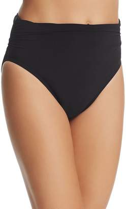 Magicsuit Solid Jersey Shirred Bikini Bottom