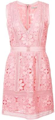Alice + Olivia Alice+Olivia lace embroidered dress