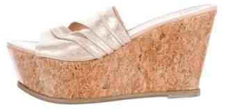 Diane von Furstenberg Slide Wedge Sandals