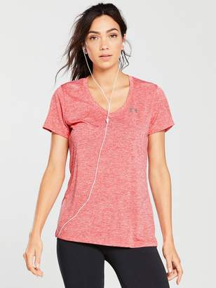 Under Armour Tech Twist Tee - Red