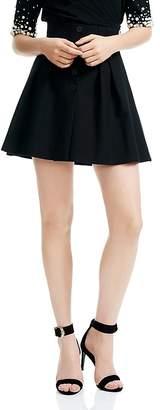 Maje Jioma Flared Mini Skirt