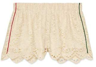 Gucci Flower lace shorts
