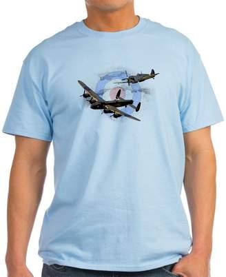 Spitfire CafePress And Lancaster T-Shirt - 100% Cotton T-Shirt