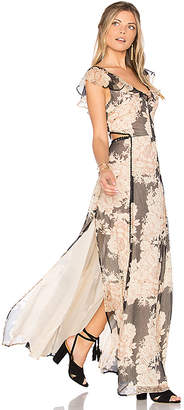 Cleobella Auden Maxi Dress in Blush $251 thestylecure.com