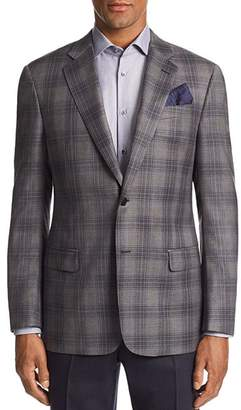 Emporio Armani G-Line Plaid Tailored Fit Jacket