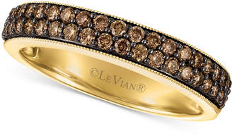 LeVian Le Vian Chocolatier Chocolate Diamond Ring (1/2 ct. t.w.) in 14k Gold