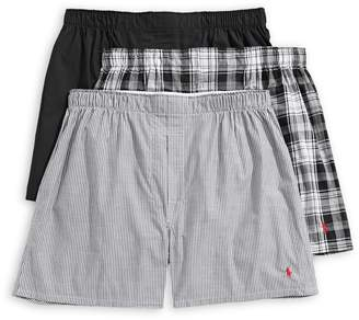 Polo Ralph Lauren Classic Packaged Product 3-Pack Classic-Fit Cotton Boxers