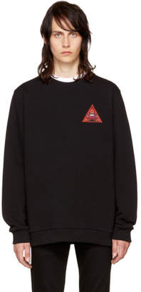Givenchy Black Real Eyes Sweatshirt