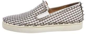 Christian Louboutin Pik-Boat Slip-On Sneakers