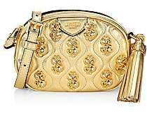 Moschino Women's Dollar Sign Embellished Leather Crossbody Bag