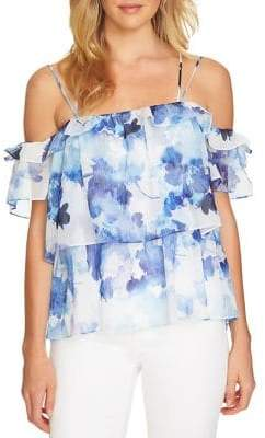 CeCe Dreamy Drop-Shoulder Blouse