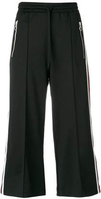 Gucci cropped track pants