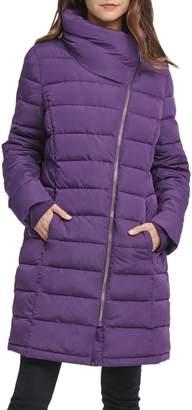 DKNY Asymmetric Puffer Jacket