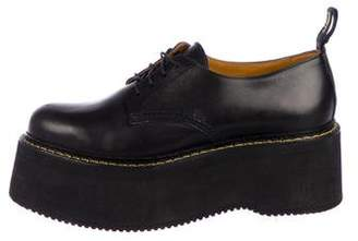 R 13 2018 Stack Leather Oxfords