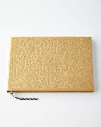 Christian Lacroix Gold Embossed Paseo Guest Book