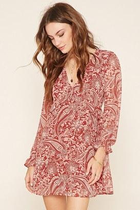 FOREVER 21+ Contemporary Paisley Dress $22.90 thestylecure.com