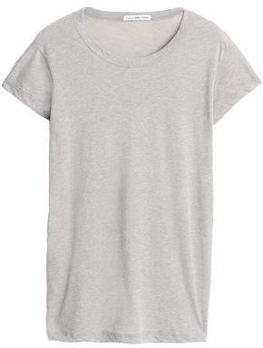 James Perse Mélange Cotton-Blend Jersey T-Shirt