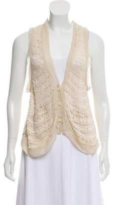 3.1 Phillip Lim Open-Knit Crochet Cardigan Open-Knit Crochet Cardigan