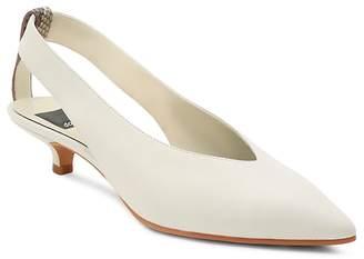 Dolce Vita Women's Orly Leather Kitten Heel Pumps