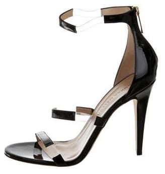 Tamara Mellon Patent Leather High-Heel Sandals