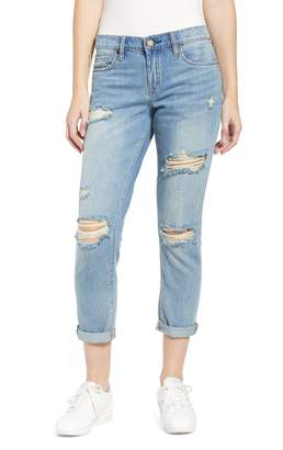 Blank NYC BLANKNYC Rocket Power Ripped Boyfriend Jeans