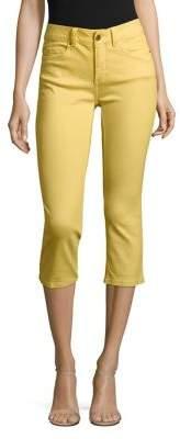 Rafaella Petite Colored Denim Capri Pants