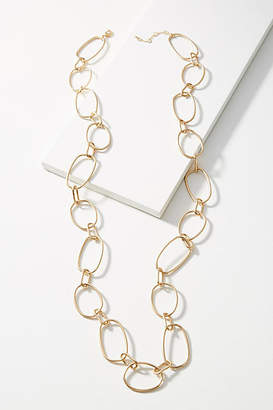 Anthropologie Open Link Necklace