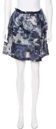 Thakoon Printed Mini Skirt