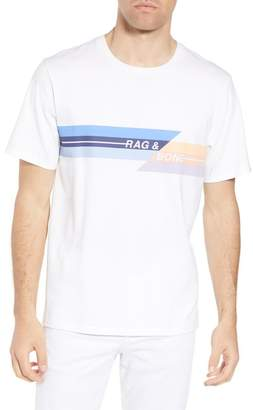 Rag & Bone Glitch Regular Fit T-Shirt
