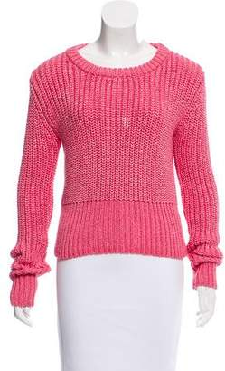 Karl Lagerfeld Cable-Knit Sweater
