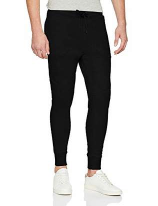 Jack and Jones Men's Jconewwill Sweat Pants Noos Trouser, Black, (Size: )