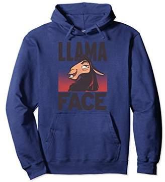 Disney The Emporer's New Groove Kuzco Llama Face Hoodie