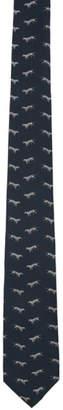 Tiger of Sweden Blue Trigon Tie