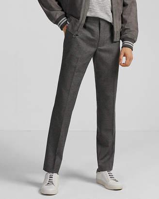 Express Extra Slim Gray Microweave Dress Pant
