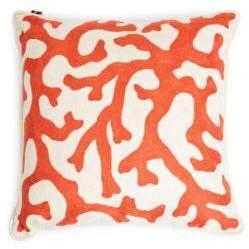 A & R Cashmere Vine Crewel Pillow