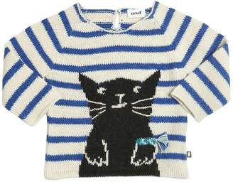 Oeuf Cat Tricot Baby Alpaca Sweater
