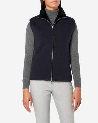 N.Peal Milano Fur Lined Gilet