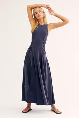 Stella Cupro Midi Dress