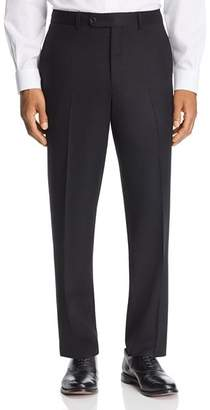 Jack Victor Flannel Regular Fit Wool Dress Pants