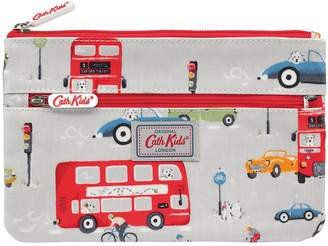 Cath Kidston Billies Bus Double Zip Pencil Case