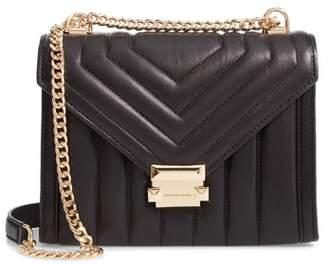 MICHAEL Michael Kors Large Quilted Leather Shoulder Bag