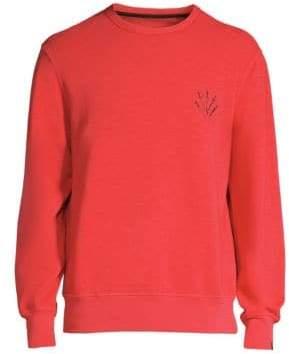 Rag & Bone Rag& Bone Rag& Bone Men's Dagger Cotton Sweatshirt - Red - Size Small