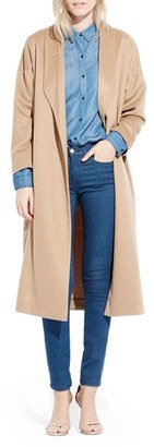Women's Ayr 'The Robe' Camel Hair Maxi Coat $585 thestylecure.com
