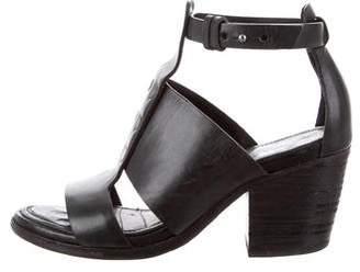 Rag & Bone Leather Cage Sandals